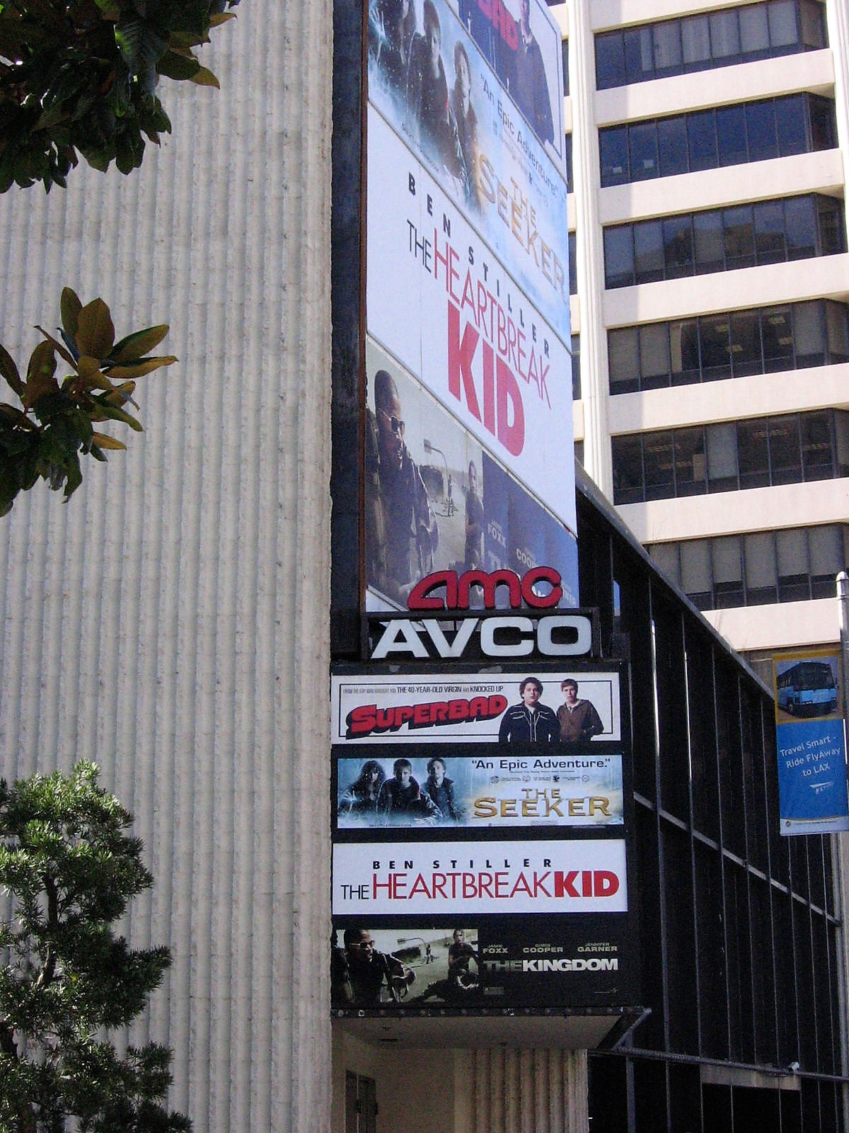 Los Angeles Theatres Ipic Westwood Avco Cinemas