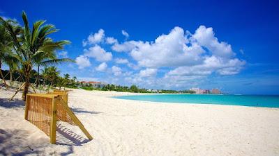 Cabbage Beach fait pertie des belles plages des Bahamas