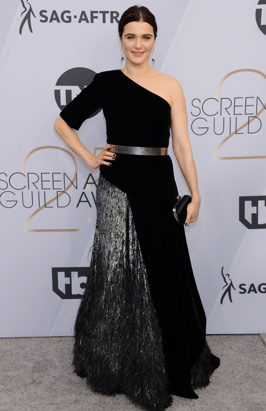 Rachel Weisz is a vision in Givenchy at the 2019 SAG Awards