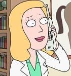 Beth Smith : Es la madre de Morty y Summer. Una mujer que trabaja como veterinaria