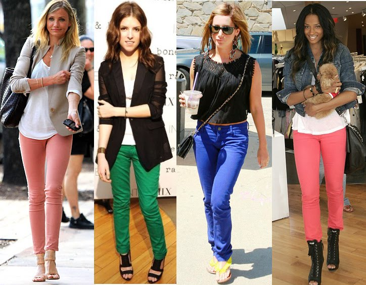 298b2f76cde Amazing Beauty Secrets   LOOK OF THE DAY  Royal Blue Skinny Jeans