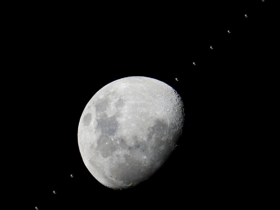 Suburban spaceman: NASA - Moon and International Space Station