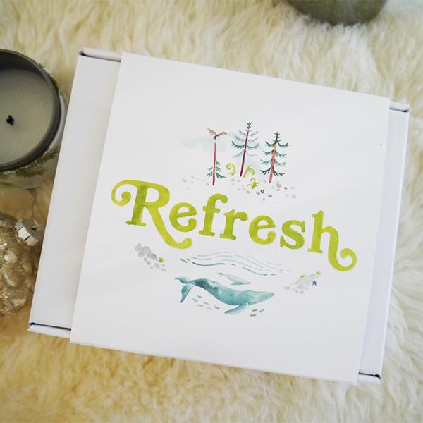 Rocky Mountain Soap Co. Refresh Gift Set