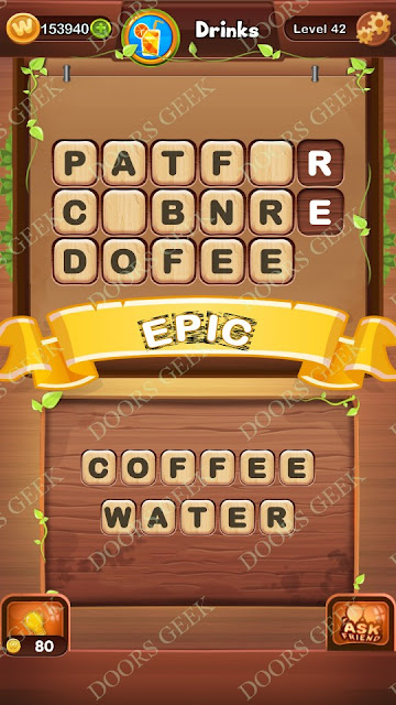 Word Bright Level 42 Answers, Cheats, Solutions, Walkthrough for android, iphone, ipad and ipod
