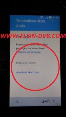 bypass email verifikasi ASUS_X009DA (ZB450KL) Tahap 17