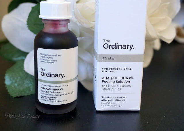 The Ordinary AHA 30% + BHA 2% Peeling Solution | bellanoirbeauty.com