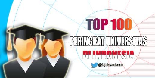 peringkat universitas di indonesia, urutan peringkat universitas di indonesia, rangking universitas di indonesia, data universitas terbaik di indonesia berdasar rangkingnya. baca selengkapnya !