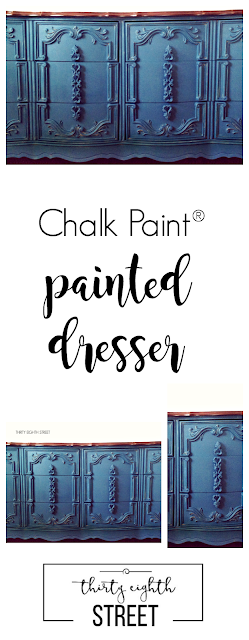 chalk paint, painted dresser, distressed dresser, asp, french provincial dresser makeovers, furniture makeover, painted dresser ideas
