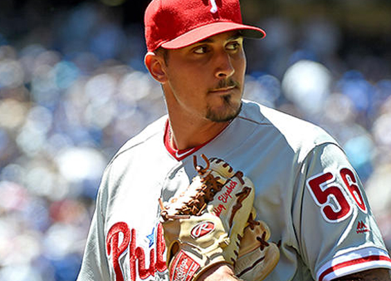 Zach Eflin to start for the Phillies