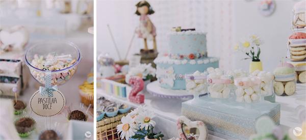 Decoração Artesanal Personalizada para Festa Infantil - Botões