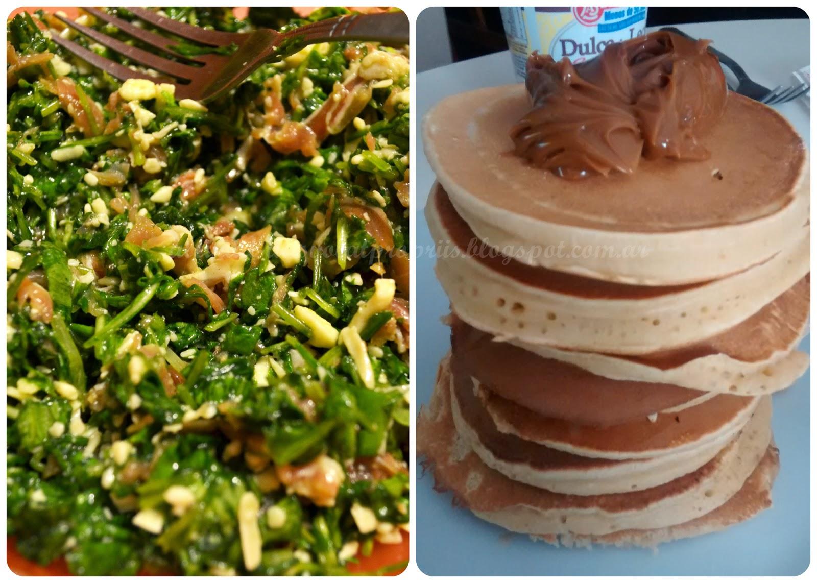 Ensalada de rucula - Hot Cakes