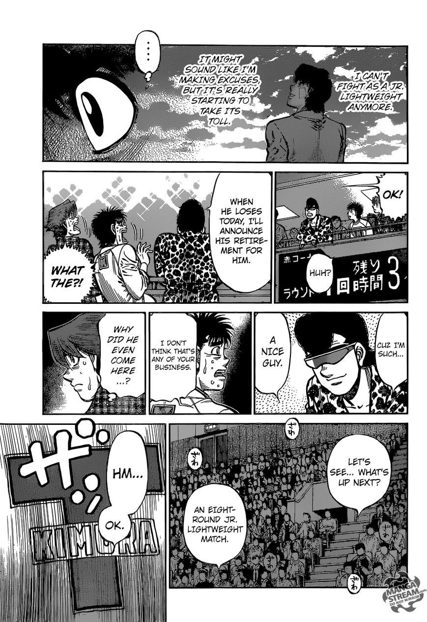 Hajime no Ippo - Chapter 1136