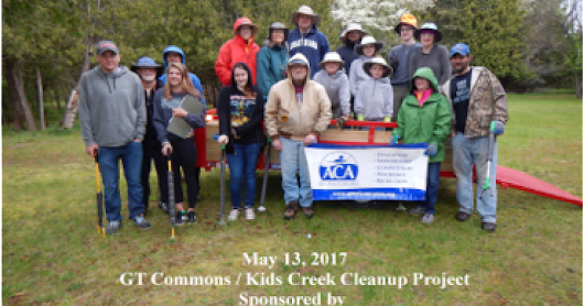 Boardman River Clean Sweep with L.L. Bean