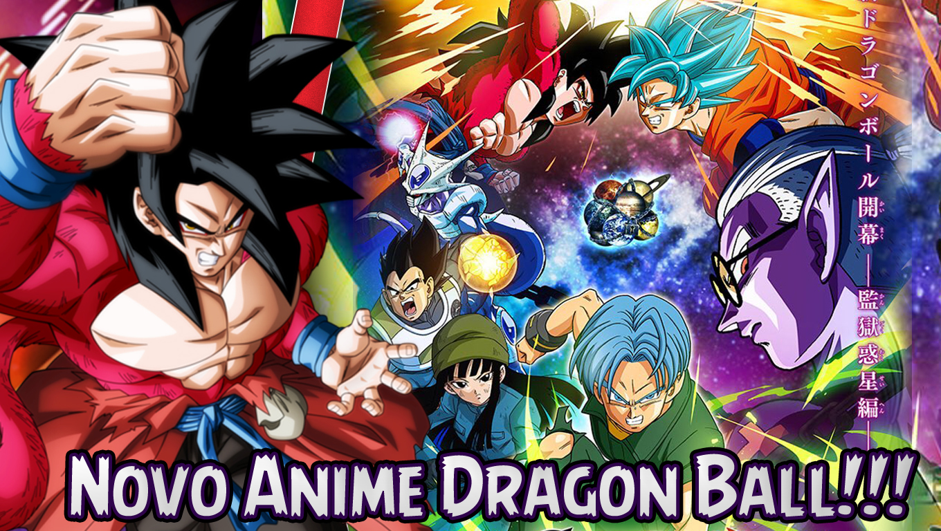 Novo Anime Dragon Ball Heroes É Anunciado!