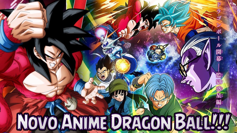 Novo Anime Dragon Ball Heroes É Anunciado!