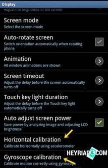 Cara Mengatur Ulang Kalibrasi Layar HP Android