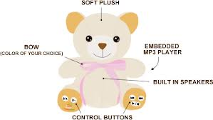 Teddy Bear with built in MP3 Player