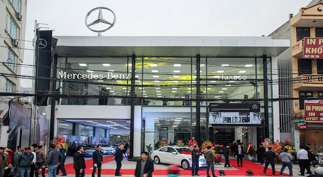 Mercedes Haxaco Kim Giang là trung tâm bán hàng và dịch vụ ủy quyền thứ 13 của Mercedes Việt Nam
