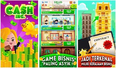 Game Bisnis Cash Inc Lapak Juragan Harta
