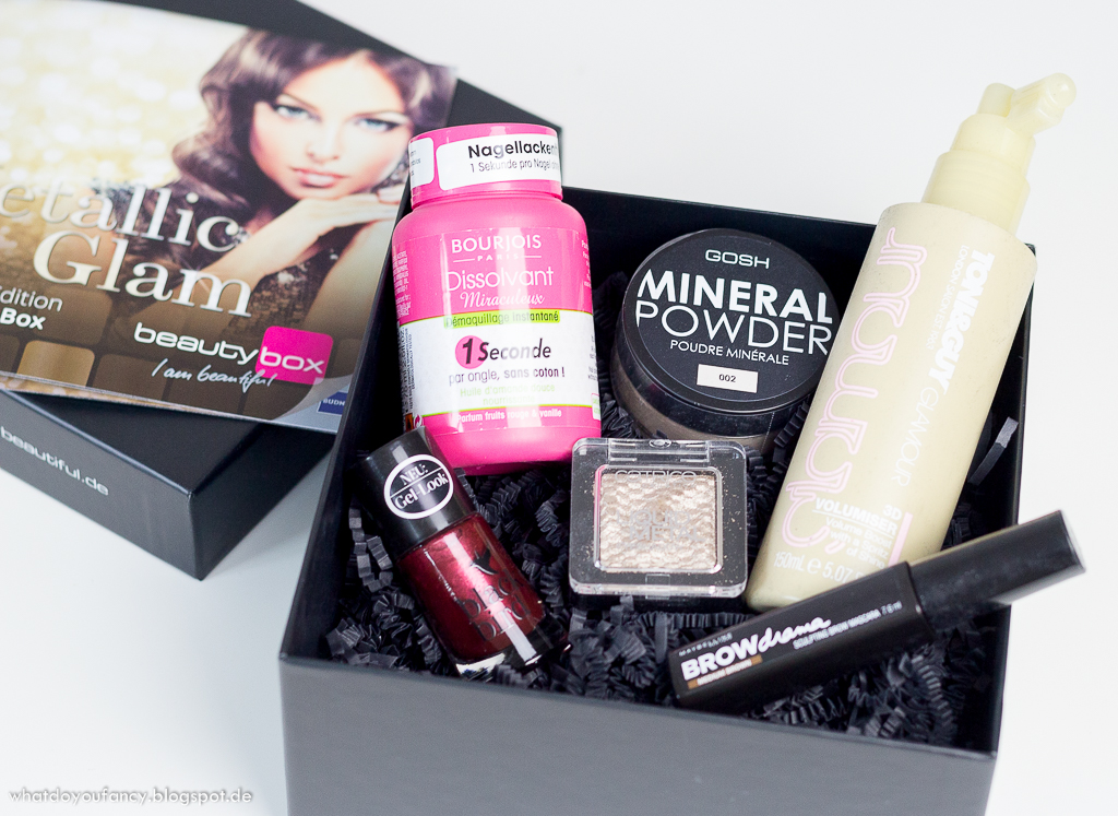 Budni Secret Box 'Metallic Glam'