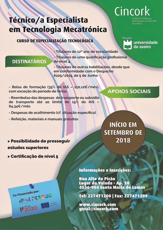 curso de especialização tecnológica em Lamas