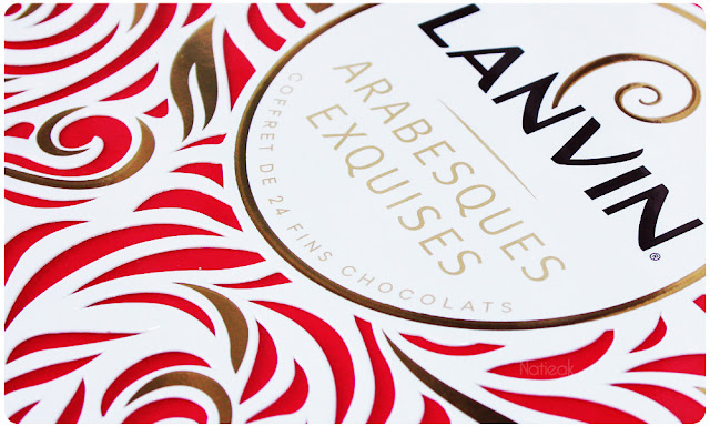 chocolats Lanvin   coffret Arabesques exquises