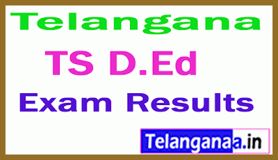 TS D.Ed 1st 2nd year Exam Results