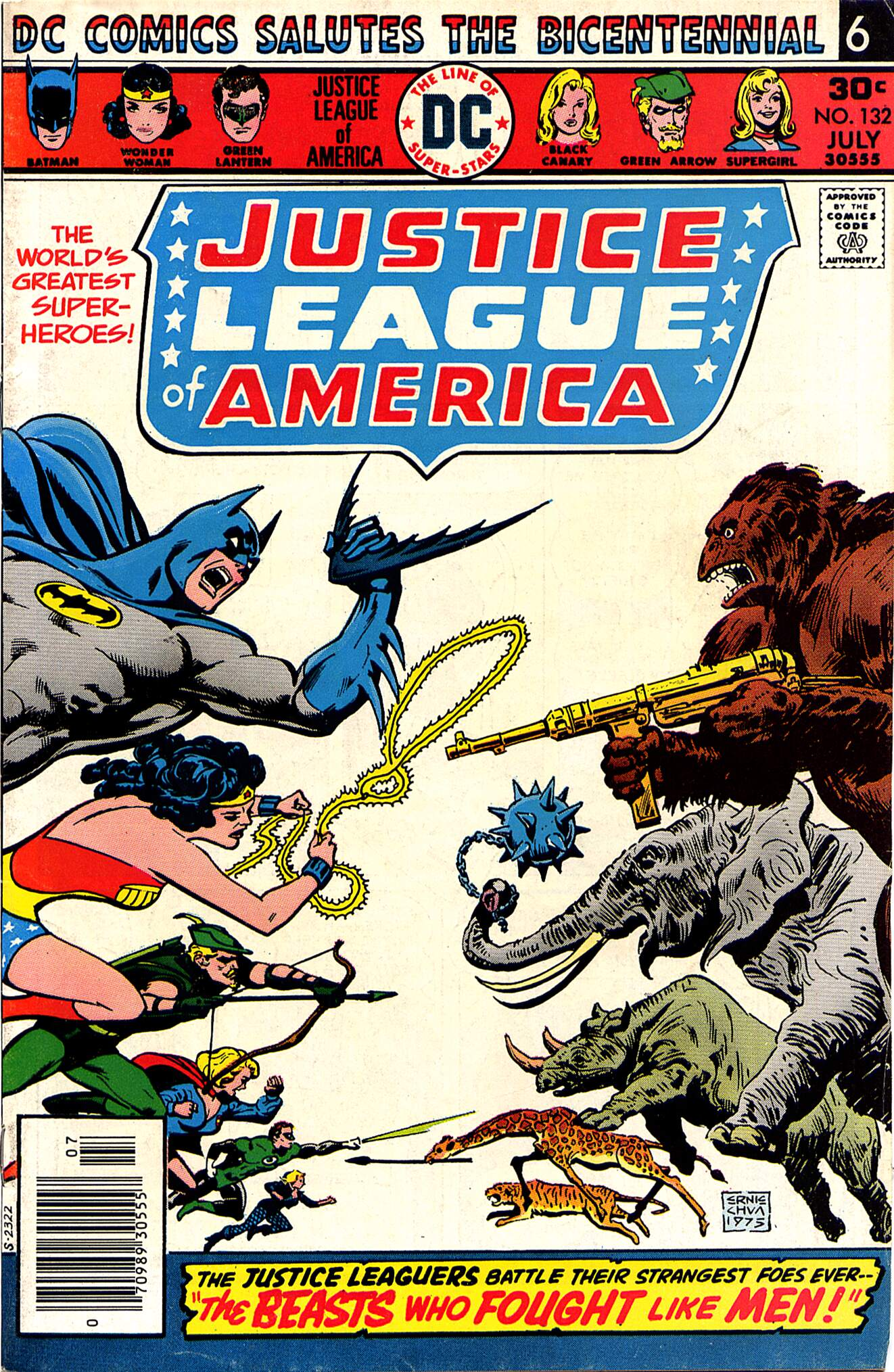 Justice League of America (1960) 132 Page 1