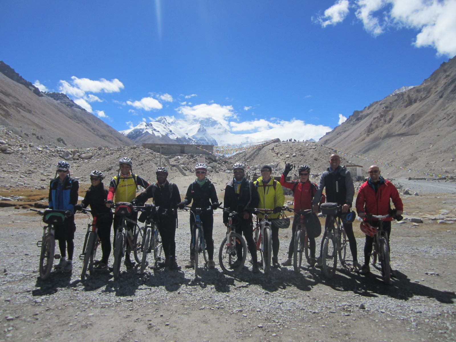 Cycling from Lhasa to Mount Everest base camp