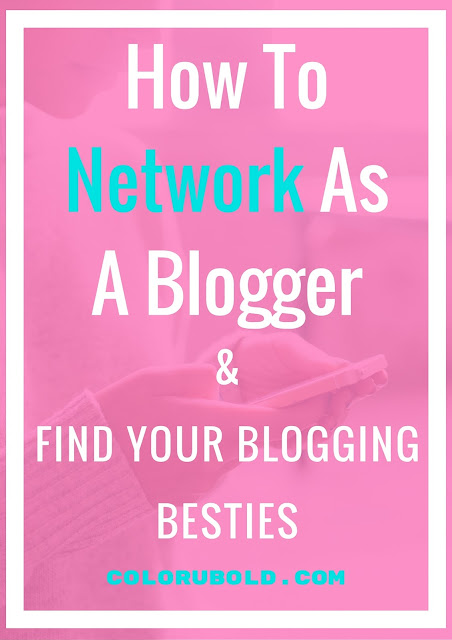 How to Network as a Blogger