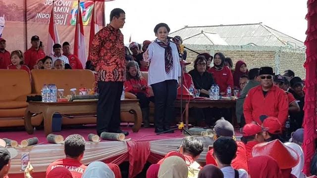 Megawati: Jangan Terpesona Barang Baru, Pilih saja Pak Jokowi