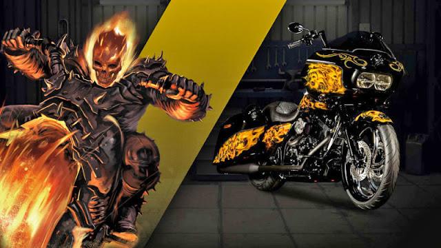 Ghost Rider Harley Davidson