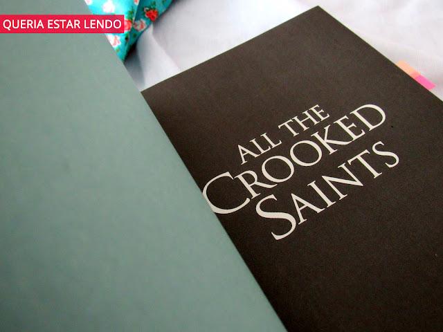 Resenha: All the Crooked Saints (Todos os santos malditos)