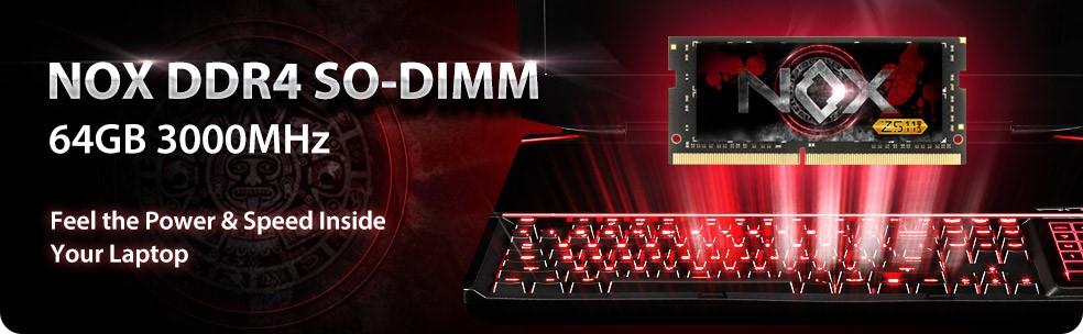 Apacer NOX DDR4 SO-DIMM