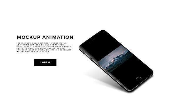 App Screen Mock-UP Animation PowerPoint Template Slide 2