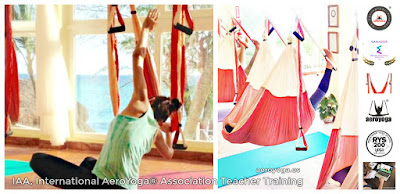 FORMACION PROFESORES AERO YOGA, AEROYOGA® INSTITUTE, IAA INTERNATIONAL AEROYOGA®  ASSOCIATION, TEACHER TRAINING, COLUMPIO, TRAPECIO, TRAPEZE, SWING, AERIEN, AERIAL, AIRYOGA, YOGA, PILATES, FLY, FLYING