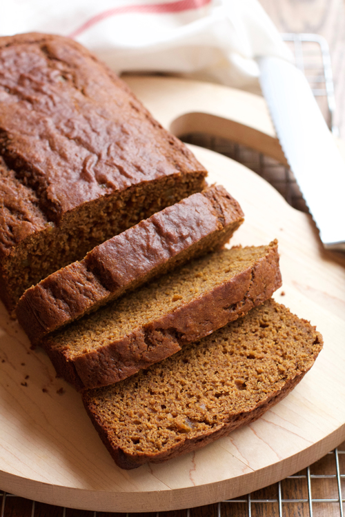 Butternut Squash Gingerbread || A Less Processed Life