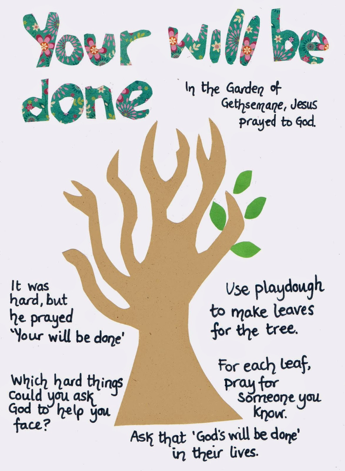 Flame Creative Children S Ministry Gethsemane Play Dough Mat Your Will Be Done