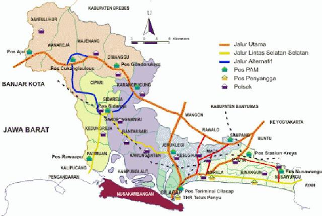 image: Peta Jalur Mudik 2019 Terlengkap