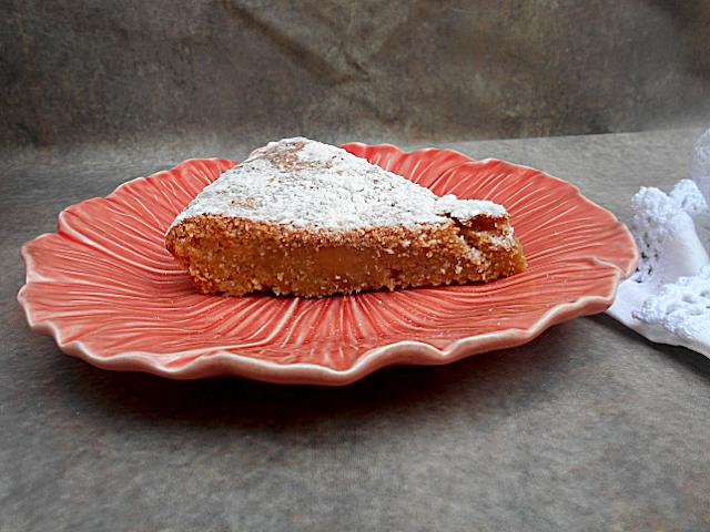 tarte de feijao e coco