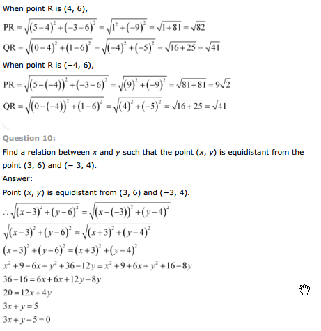 Ncert Solutions For Class 9 Maths Chapter 7 Exercise 7 3