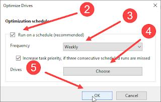 Gambar 4 - Cara Mendefrag Harddisk di Windows 10