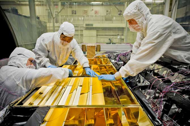 Teleskop, JWST, Nasa, Esa, space, hubble, gold