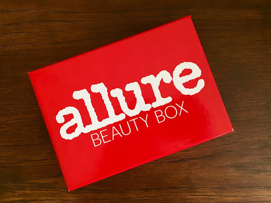 Evoking You!: Allure November 2017 Beauty Box