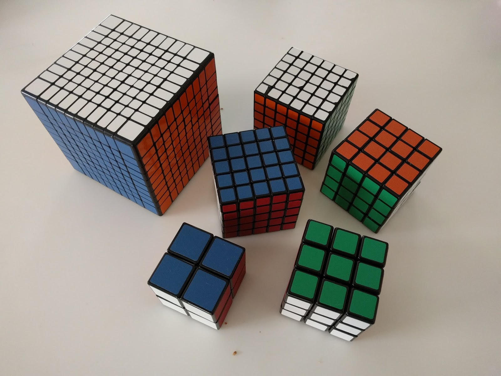 now before you go jumping head first you really need to practice with some smaller cubes first you look in that photo above and you ve got everything from  [ 1600 x 1200 Pixel ]