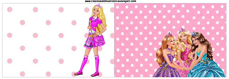 Tarjetas Barbie Para Imprimir Gratis Imagui