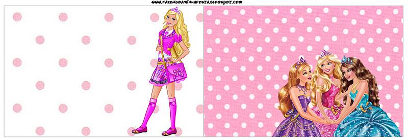 Como Hacer Tarjetas De Invitación De Barbie Imagui
