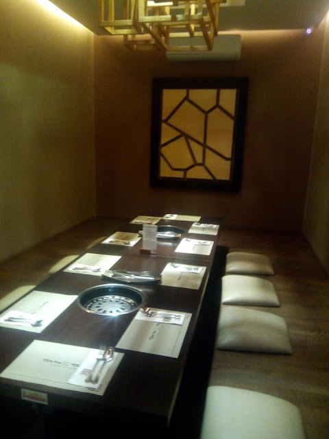 Private room at Tokyo Table