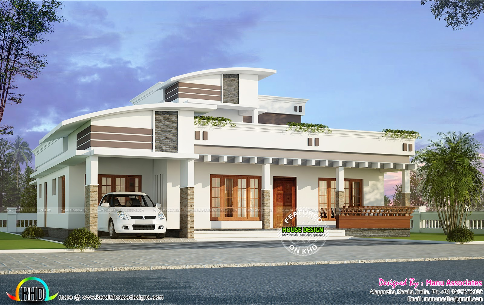 2370 sq ft modern 4 bhk home kerala home design and for 4 bhk house plans kerala