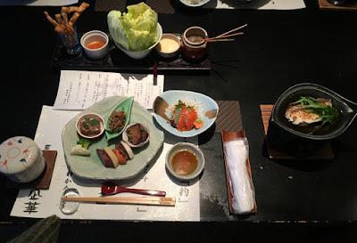 杓凪華の夕食